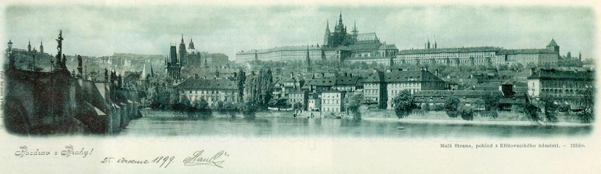 Pohlednice Praha Mala Strana